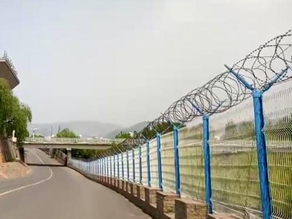 边境线防护网-中朝口岸
